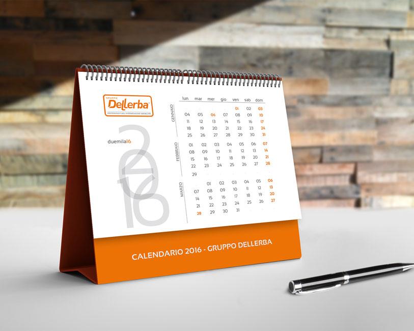 Gruppo Dellerba - Calendario da tavolo