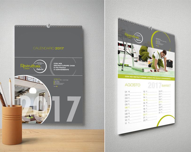 Ristruttura Point - Calendario da parete