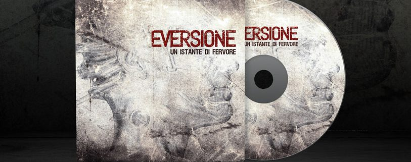 Eversione - CD cartoncino copertina - Un istante di fervore