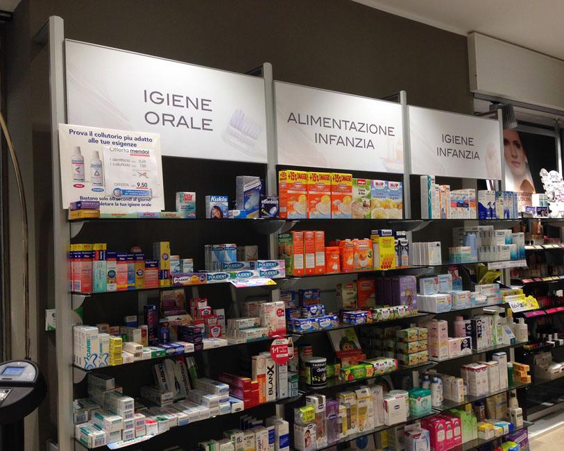 Farmacia Zagoreo - Visual adesivi di igiene e alimentazione