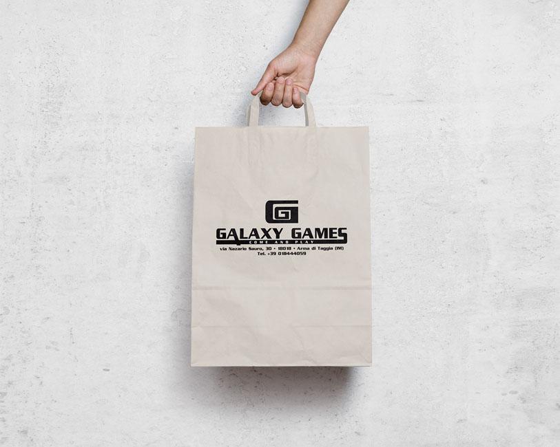 Galaxy Games - Sacchetti di carta