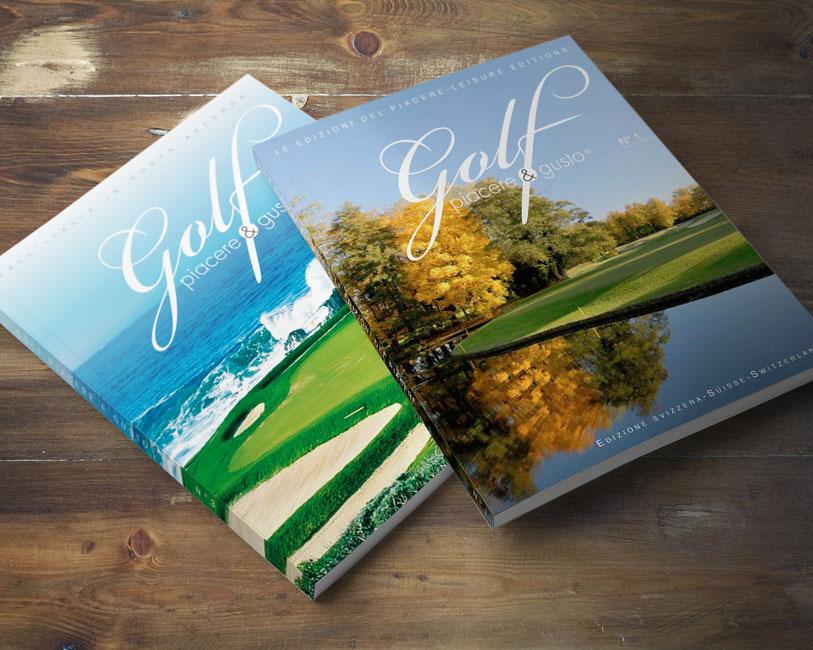 Golf Piacere & Gusto - Rivista - Copertine