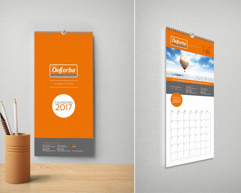 Gruppo Dellerba - Calendario da parete