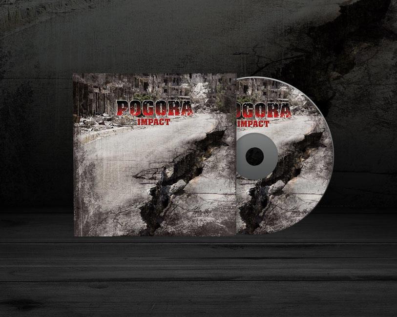 Pogora - CD Cartoncino copertina - Impact