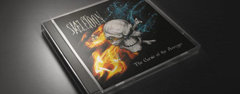 Skeletoon - CD Jewel box copertina - The course of the Avenger